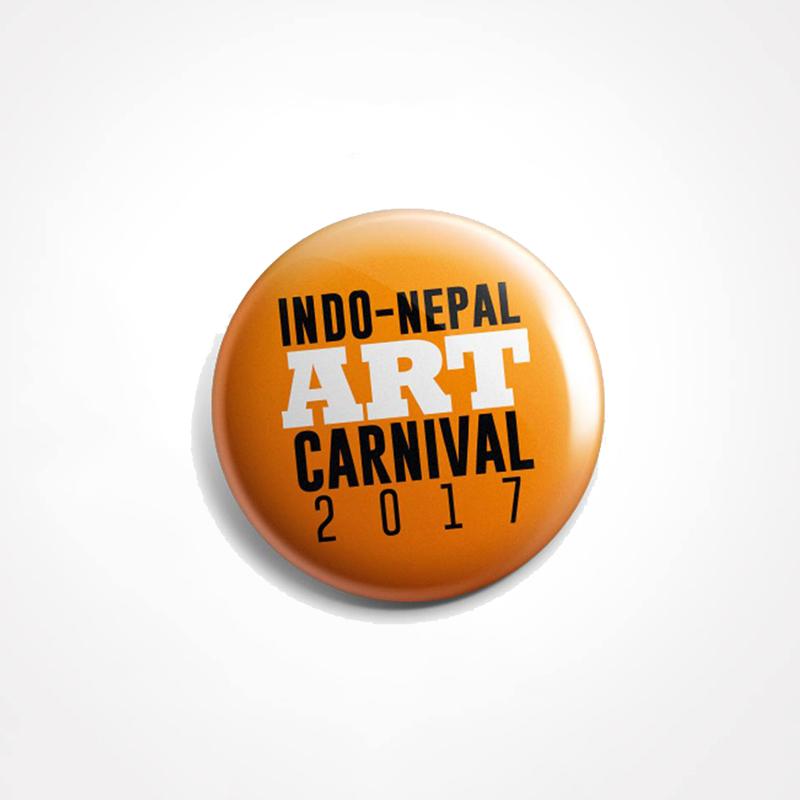 Circular Badge Sasto Print Nepal